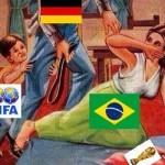 Goleada a Brasil cortesía de Alemania