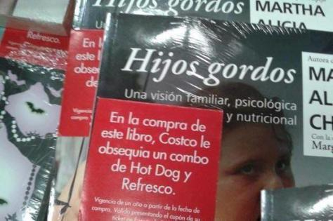 llevate hijos gordos y gratis refresco y hot dog