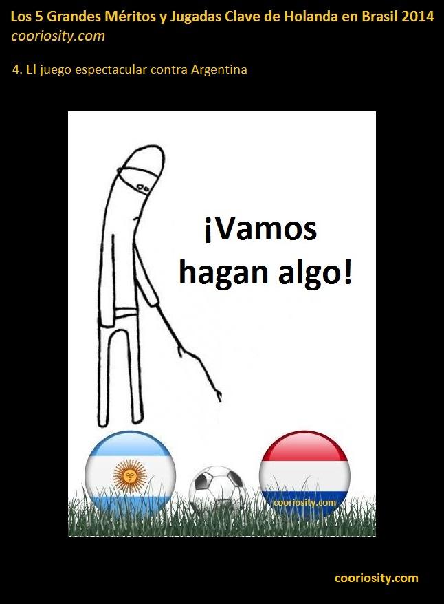 meritos holanda brasil 2014 - 4 argentina